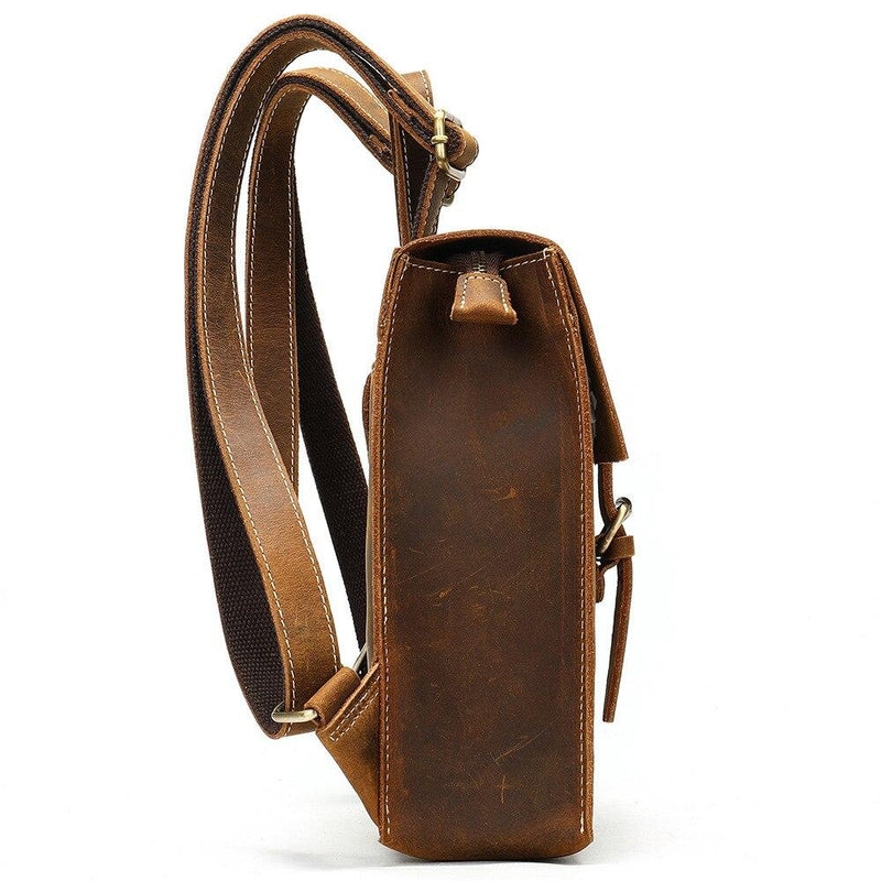 women leather rucksack