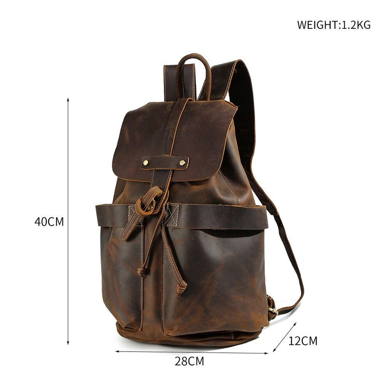 Ladies Leather Backpack <br /> KYIA