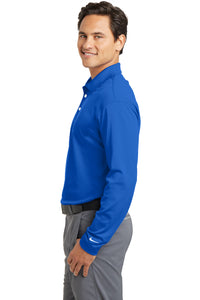 Men's Nike Long Sleeve Dri-FIT Stretch Tech Polo