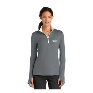 Ladies Nike Dri-FIT 1/2 Zip
