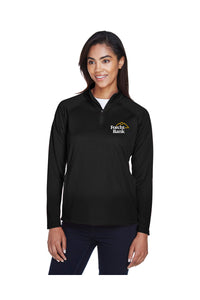 Ladies' Stretch Tech-Shell Quarter Zip