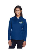 Load image into Gallery viewer, Ladies' Stretch Tech-Shell Quarter Zip