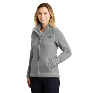 Ladies North Face Sweater Fleece Jacket