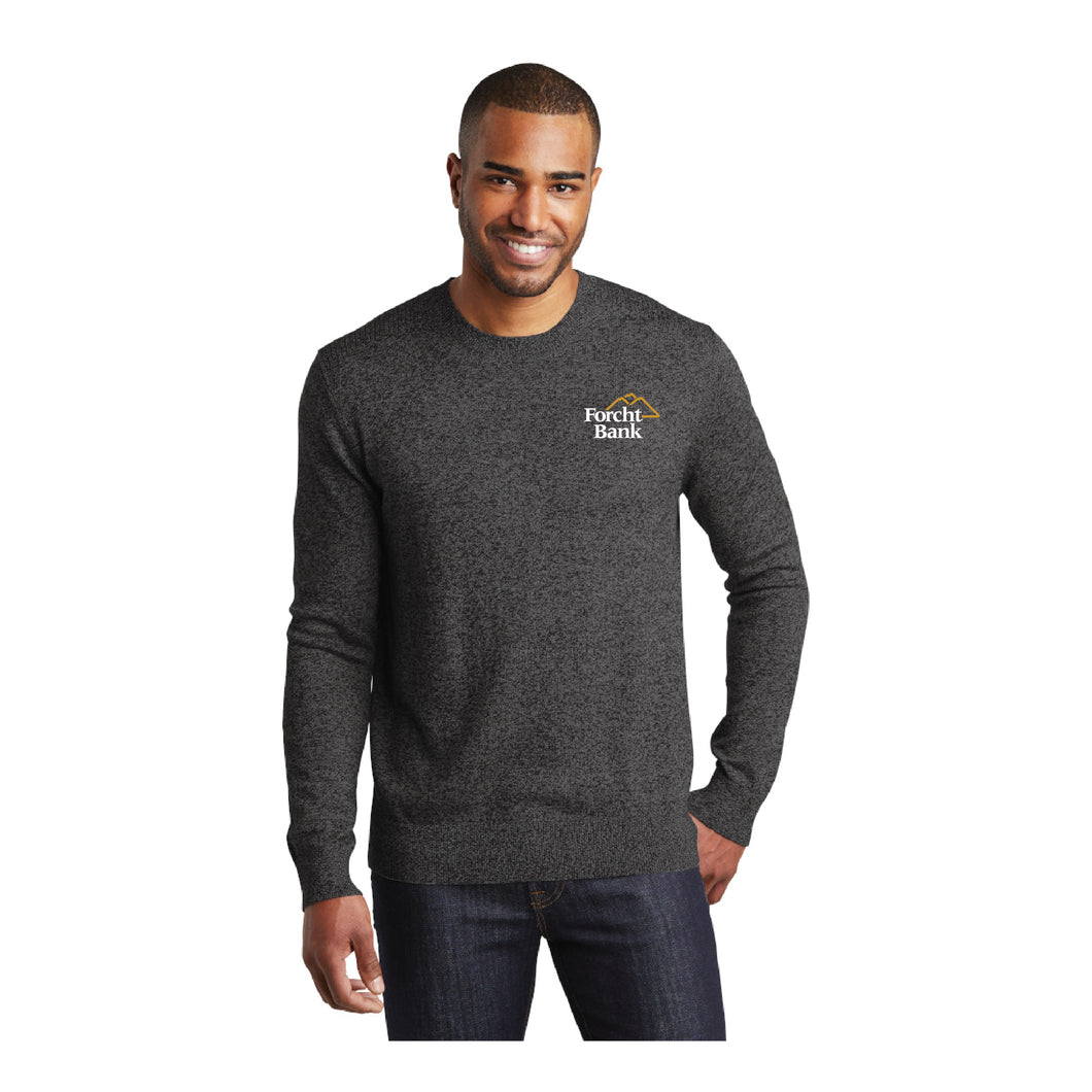 Men's Marled Crew Sweater