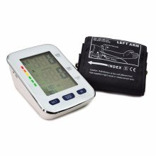 Automatic Digital Upper Arm Blood Pressure Monitor with Cuff