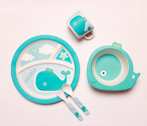 Bamboo Children Dinner Set
