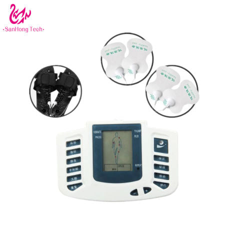 Four Multiple Massage Mode (Press-Rub-Viration-Beat) Meridians Collaterals Hand Foot Waist Shoulder Massage Therapy Machine