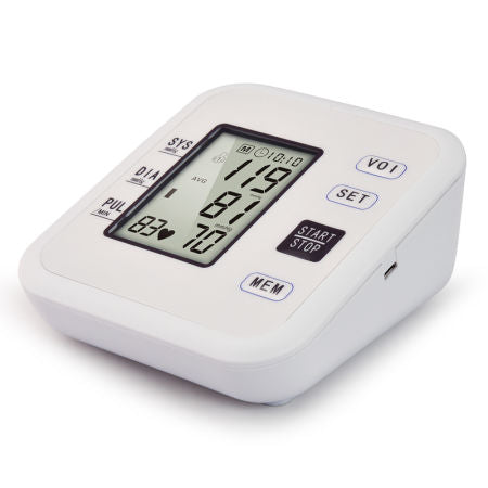 Health Care Household Automatic Wireless Electronic Digital LCD Display Arm Blood Pressure Monitor