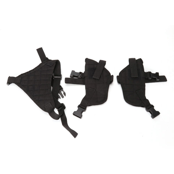 New Arrival Outdoor Military Tactical Nylon Versatile Camouflage Axillary Pistol Holster Airsoft Gun Holster Hunting Accessories