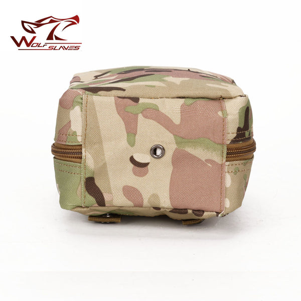 Outdoor Tactical Military Multipurpose Practical Mini Pouch Belt Medical Kit Molle Waist Bag
