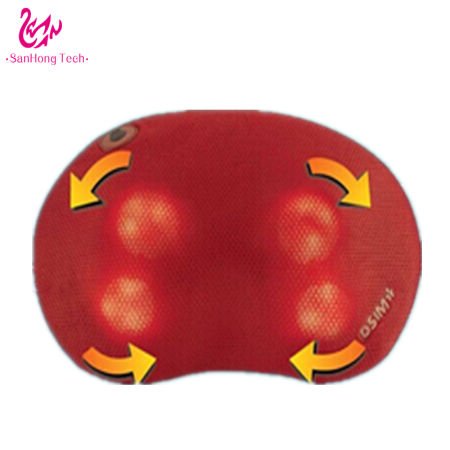 Portable Household Kneading, Shiatsu, Vibrating Neck, Shoulder Pillow Massager