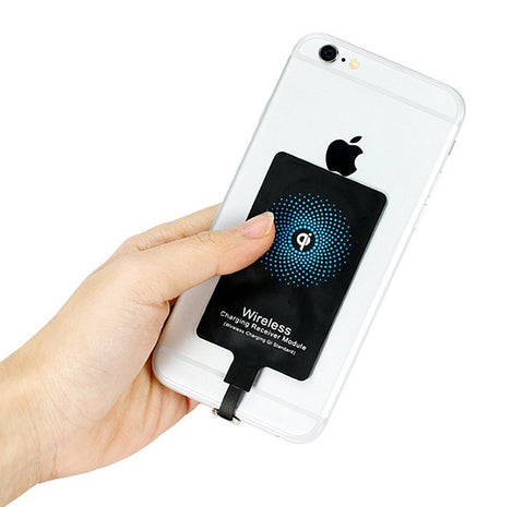 QI Wireless Charger Receiver For Iphone Wireless Charger Adapter