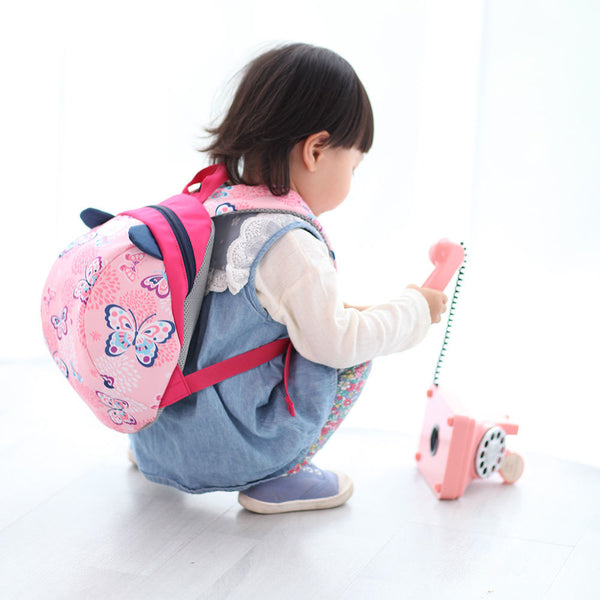 SUNVENO Cute Cartoon Toddler Baby Harness Backpack Leash Safety Anti-lost Backpack Strap Walker Dinosaur Backpack