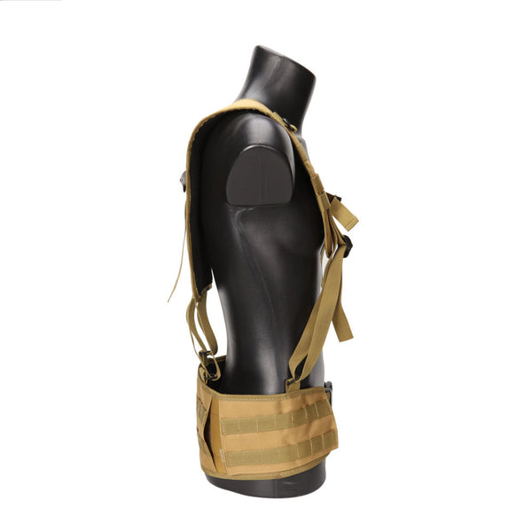 Tactical Adjustable Waist Padded Strap with H-Shaped Suspender Shoulder Belt