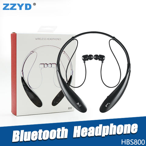 ZZYD For HBS800 Bluetooth Headphone Wireless Earphone sport bluetooth 3.0 Headset Handsfree in-ear headphone For Samsung S8 Note 8 Any Phone