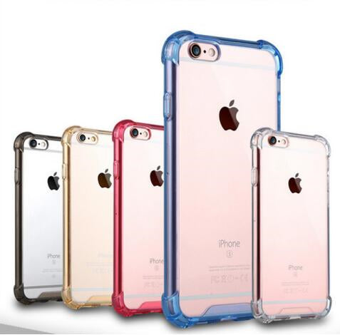 ZZYD Hot Sale Acrylic+TPU Phone Caes Transparent Case for iPhone 6/7/8 X Xs Xr Xmax