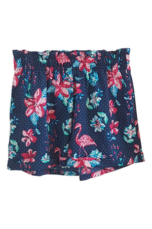 Women's Shorts Combo (Pack of 2) - K1684FB/CN - Flamingo Blue & Curse Navy