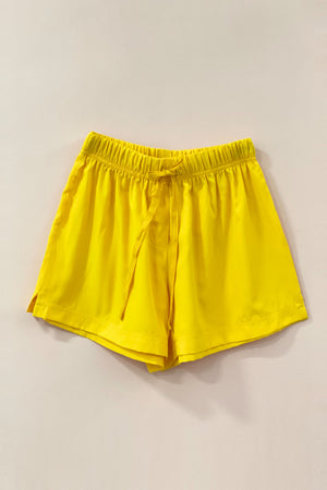 Women's Crepe Shorts Combo (Pack of 2) - K350 Brooklyn Yellow
