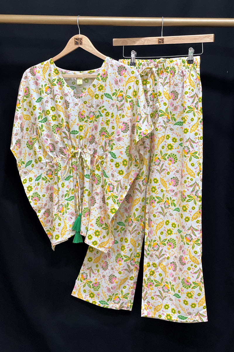 Women's Two - Mile Kaftan Co-Ord Set - K1931