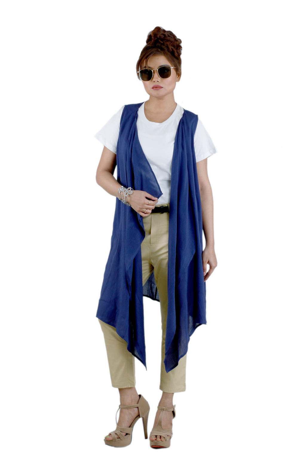 Womens Solid Colour Shrug - K1043