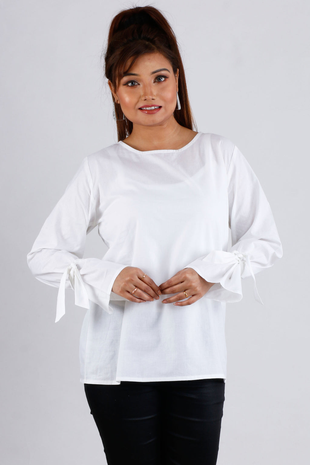 Womens Casual Ruffle Top - K1567W