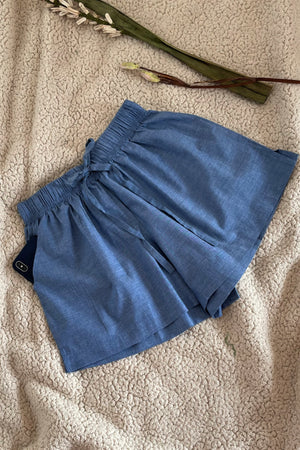 Women's Cotton Shorts Combo (Pack of 2) - K350 Dachshund Chambray / Tiffani OG