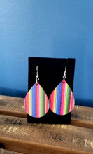 Load image into Gallery viewer, Serape Teardrop Earrings