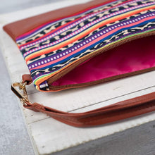 Load image into Gallery viewer, Serape Clutch/Wristlet