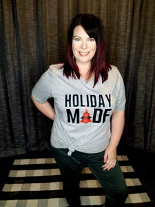 """Holiday Made"" Graphic Tee"
