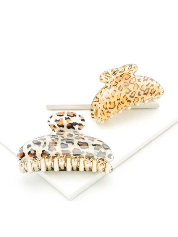 Leopard Hair Claws