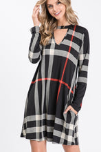 Load image into Gallery viewer, Plaid Dress