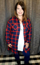 Load image into Gallery viewer, Plaid Tunic