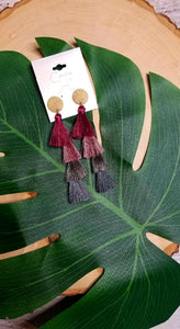 Tiered Tassle Earring