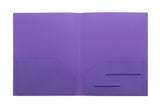 Purple Heavy Duty Plastic Folder