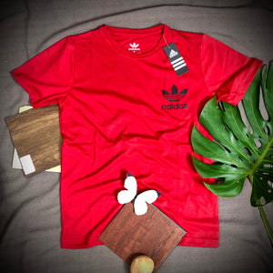 Adidas Branded T Shirt ( T shirt item code - AD/RED )
