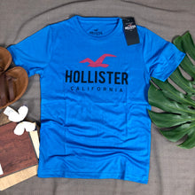 Load image into Gallery viewer, Hollister Branded T shirt ( item code - HO/Blue)