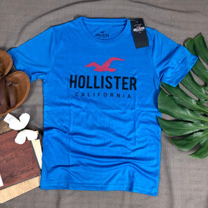 Hollister Branded T shirt ( item code - HO/Blue)