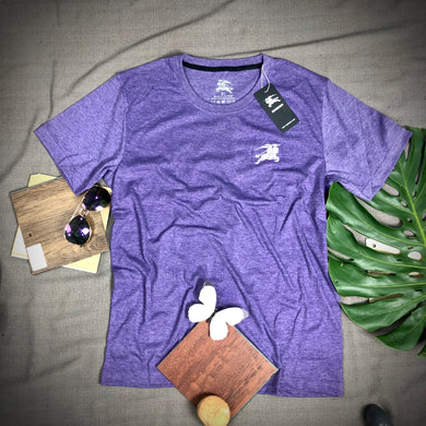 T Shirt Item Code - BU/PURPLE (Branded Burberry T Shirt)