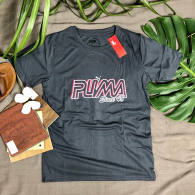 Puma Branded T Shirt (item code - PU/Grey)