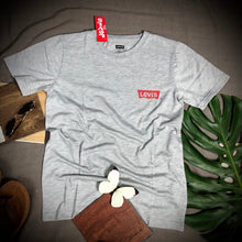 Load image into Gallery viewer, LEVIS Branded T Shirt ( T shirt item code - LE/GREY )