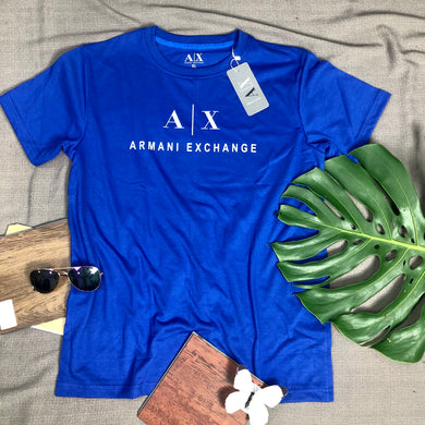 T Shirt Item Code -AR/Blue (Branded Arman T Shirt)