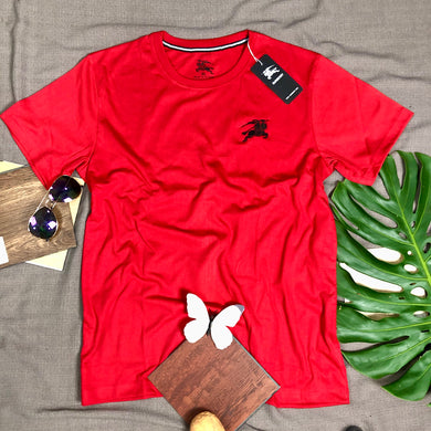 T Shirt Item Code - BU/RED (Branded Burberry T Shirt)