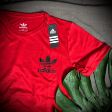 Load image into Gallery viewer, Adidas Branded T Shirt ( T shirt item code - AD/RED )