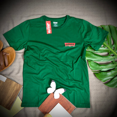 LEVIS Branded T Shirt ( T shirt item code - LE/Green )