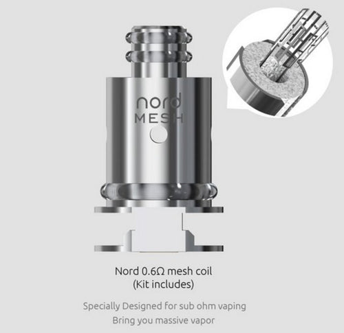 Smok Nord Mesh Coils 5 Pack