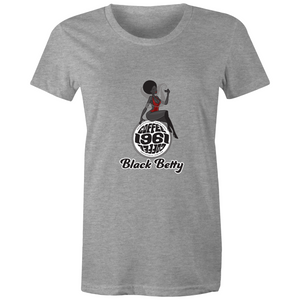 1961Coffee Black Betty - Sports Womens T-shirt