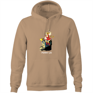1961Coffee Perky Jo - Mens Pocket Hoodie
