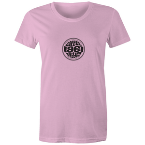 1961Coffee - Sports Womens T-shirt