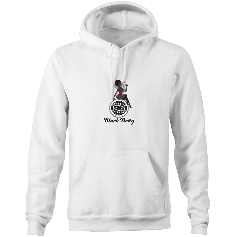 1961Coffee Black Betty - Mens Pocket Hoodie