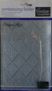 Couture Creations Embossing Folder - Dreamscapes Collection: Hedged Maze
